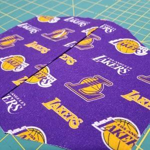 LA Lakers Cotton Facemask Face Mask